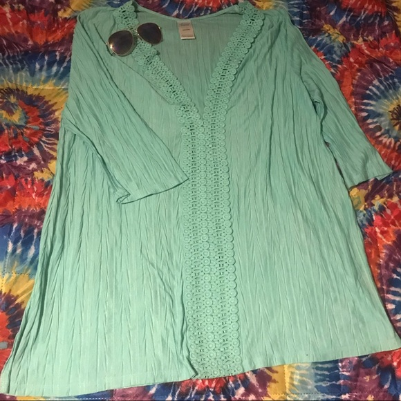 Catalina Other - Catalina 3x mint color swimsuit coverup.
